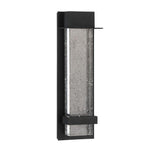 Alpine Small LED Outdoor Wall Lamp - Black Finish