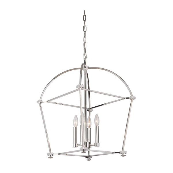 Mariana Home - Fairview 4 Light Pendant - Polished Nickel Finish