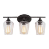 Mariana Home - Elba 3 Light Vanity - Bronze Finish