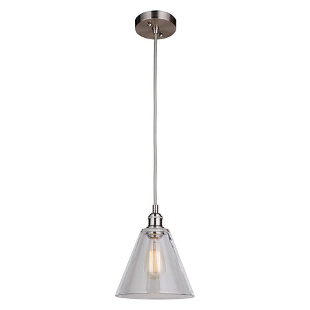 Fortune 8 Light Pendant Chandelier - Antique Brass