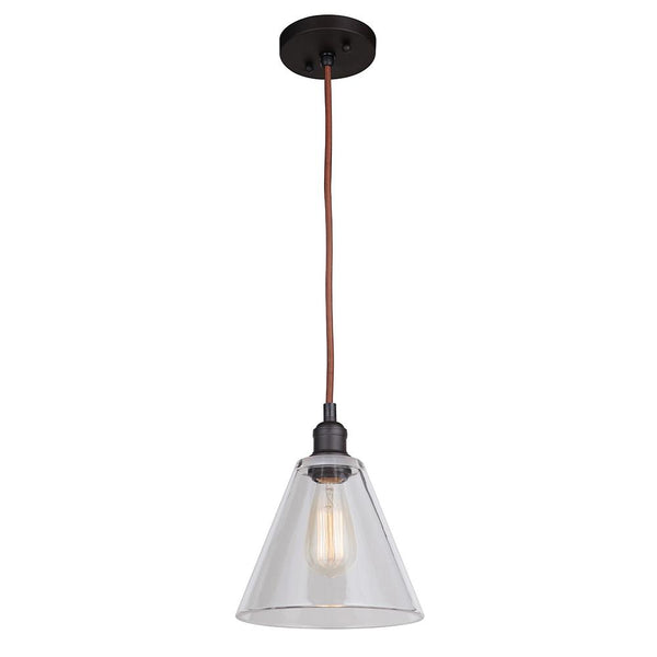Mariana Home - Mylin 1 Light Pendant - Bronze Finish