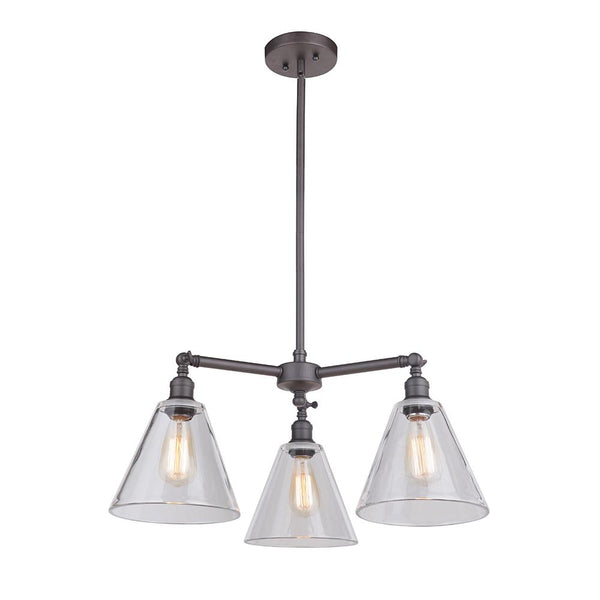 Mariana Home - Mylin 3 Light Pendant - Bronze Finish