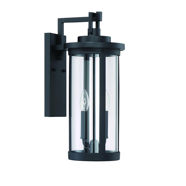 McKenzie 2LT Outdoor Lantern - Black