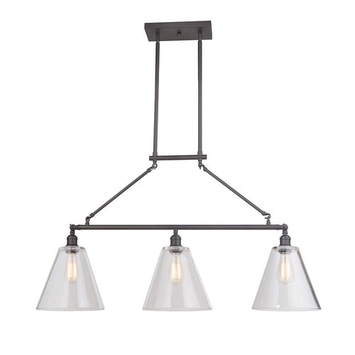 Mariana Home - Mylin 3 Light Island Pendant - Bronze Finish