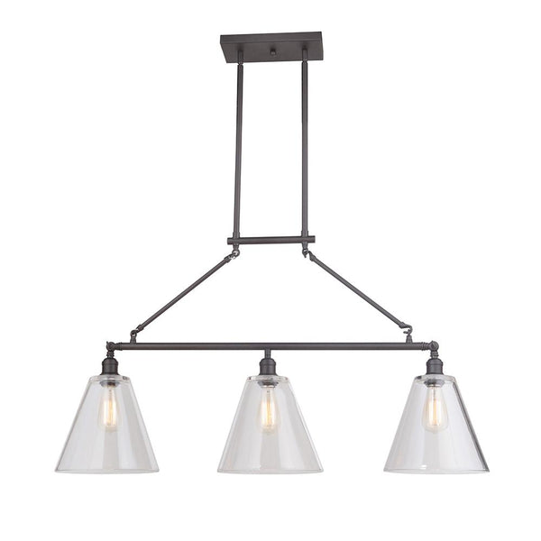 bd5157286b7 Mariana Home - Mylin 3 Light Island Pendant - Bronze Finish