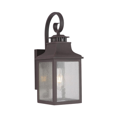 Recurved Downward Outdoor Lantern - Large