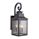 Mariana Home - Drake Two Light Outdoor Lantern - Black Finish - 308112