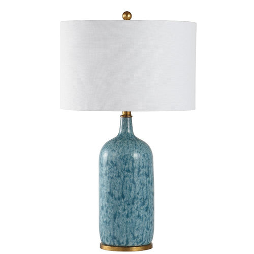Mariana Home - Veronica Table Lamp - Blue and Gold Leaf Finish