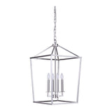 Mariana Home - Midland 4 Lt Pendant - Satin Nickel