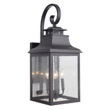 Mariana Home - Drake Three Light Outdoor Lantern - Black Finish - 311112