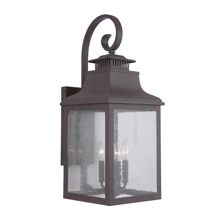 Drake 1 Light Outdoor Lantern - Black