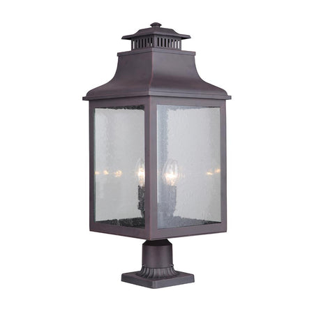 Drake 1 Light Outdoor Lantern - Medium Bronze