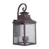 Mariana Home - Drake Four Light Extra Large Outdoor Lantern - Medium Bronze Finish - 313177