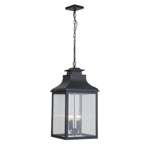 Mariana Home - Drake Four Light Hanging Outdoor Lantern - Black Finish - 313212