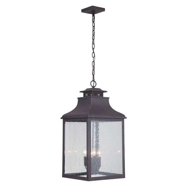 Mariana Home - Drake Four Light Hanging Outdoor Lantern - Medium Bronze Finish - 313277