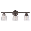 Solebay 3 Light Vanity - Bronze Finish