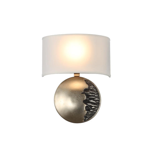 Mariana Home - Windsor Wall Sconce - Silver Leaf Finish