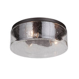 Mariana Home - Eldon 3 Light Flush Mount - Bronze Finish
