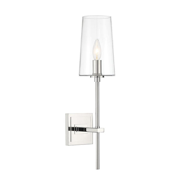 Mariana Home - Elegant 1LT Wall Sconce - Polished Nickel