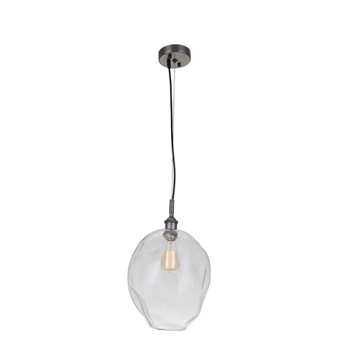 Ellarie 1 Light Pendant - Antique Pewter Finish
