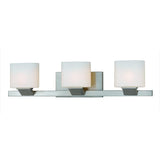 Mariana Home - Endive 3 Light Wall Sconce - Bath Vanity- Satin Nickel Finish - 380345