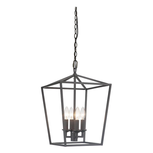 Mariana Home - Oscar 5 Light Lantern - Bronze Finish