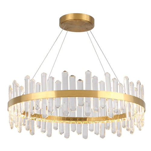 Mariana Home - Isobel LED Pendant Chandelier - Antique Brass Finish