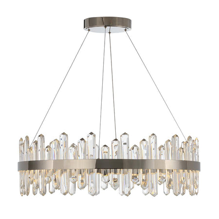 London 1 Light Pendant - Brass