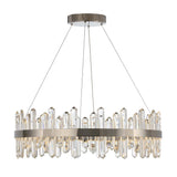 Mariana Home - Isobel LED Pendant Chandelier - Polished Nickel Finish