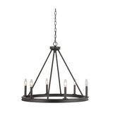 Mariana Home - Chisholm Six Light Chandelier - Bronze Finish - Modern Farmhouse Style - 440683