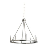Mariana Home - Chisholm 8 Lt Chandelier - Satin Nickel