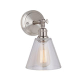 Mariana Home - Mylin 1 Light Wall Sconce - Brushed Nickel Finish