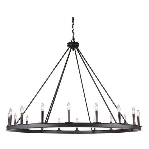 Mariana Home - Chisholm 18 Light Chandelier - Bronze Finish