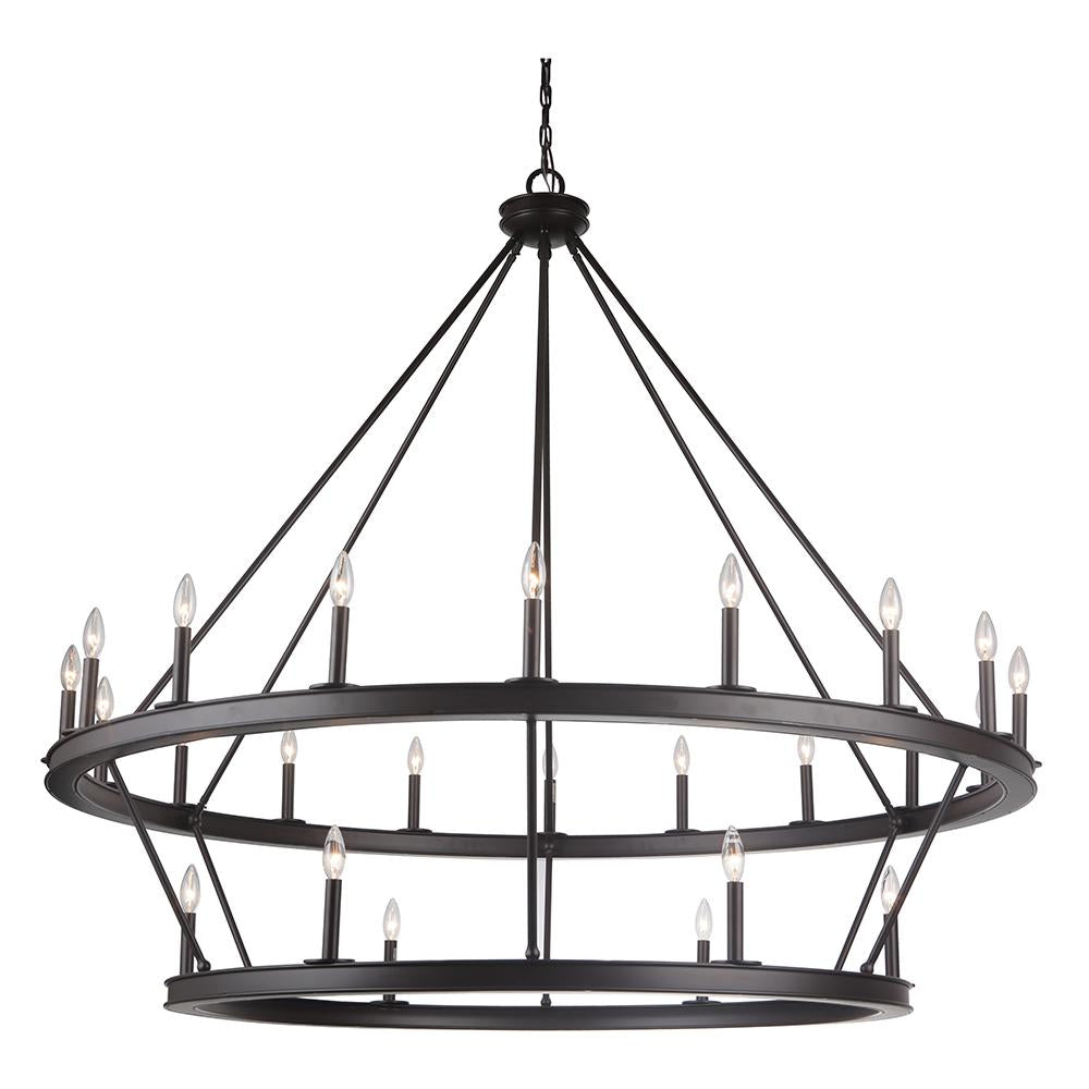 Chisholm 24 light chandelier mariana home chisholm 24 light tiered chandelier arubaitofo Image collections