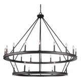 Mariana Home - Chisholm 24 Light Tiered Chandelier - Bronze Finish