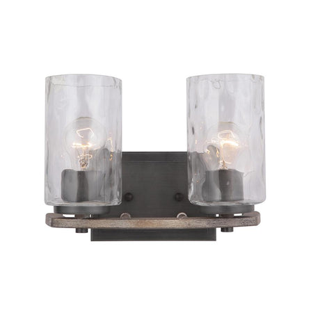 Clement Double Wall Sconce - Brass