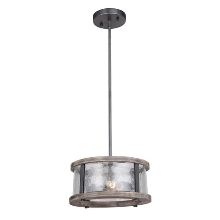 Classic 11in Flush Mount - Bronze