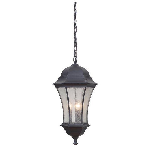 Mariana Home - Crandall Three Light Outdoor Hanging Lantern - Black Finish - 513212