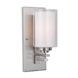 Mariana Home - Chryssa 1 Light Wall Sconce - Satin Nickel Finish