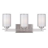 Mariana Home - Chryssa 3 Light Vanity - Brushed Nickel Finish
