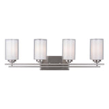 Mariana Home - Chryssa 4 Light Vanity - Brushed Nickel Finish