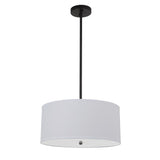 Mariana Home - Drum Pendant - Medium - Black Finish