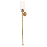 Mariana Home - Rydon Wall Sconce - Gold Leaf Finish