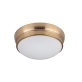 Classic 11in Flush Mount - Brass Finish