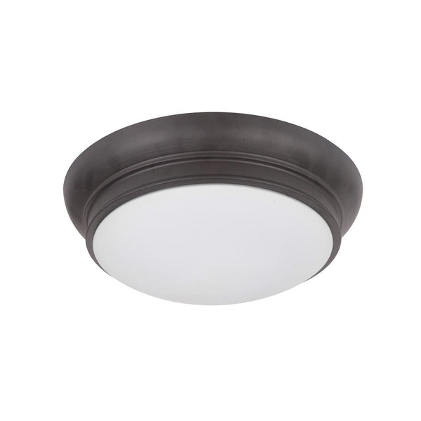 Classic 11in Flush Mount - Bronze Finish
