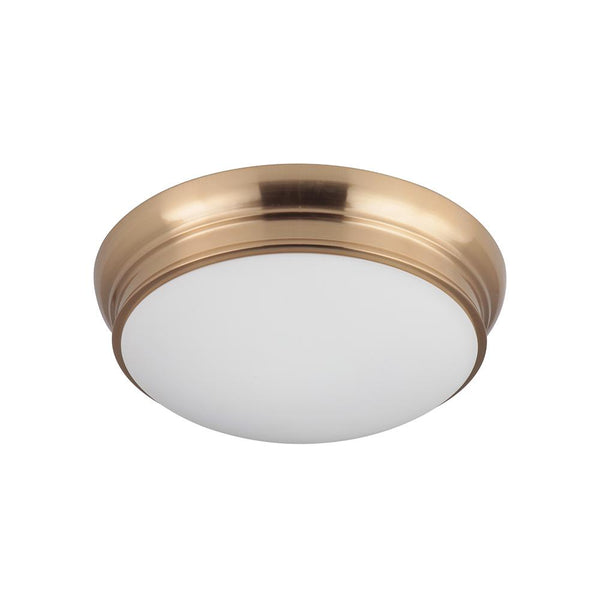 Classic 13in Flush Mount - Brass Finish