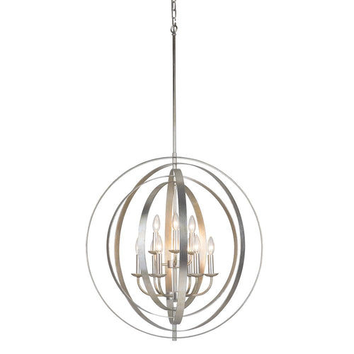 Mariana Home - Brentwood 9 Light Orb Pendant - Champagne Finish