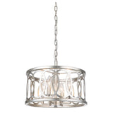 Mariana Home - Wysteria 4 Light Pendant - Silver Leaf Finish
