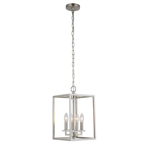 Mariana Home - Graham Four Light Pendant - Satin Nickel Finish - 600445