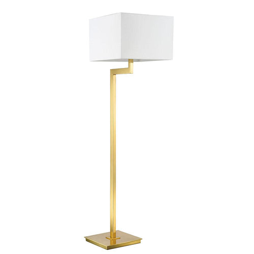 Mariana Home - Ely Floor Lamp - Brass Finish